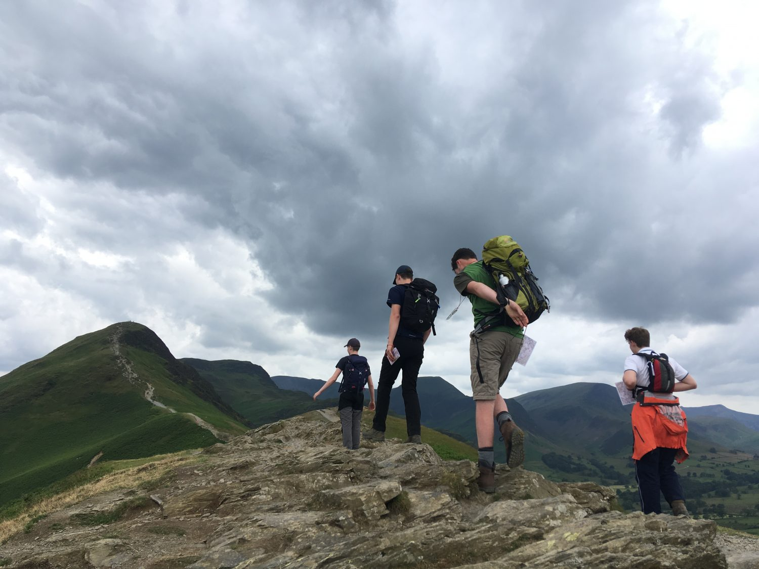 Adventure loving King's Ely students learn abundance of new skills in Lake District