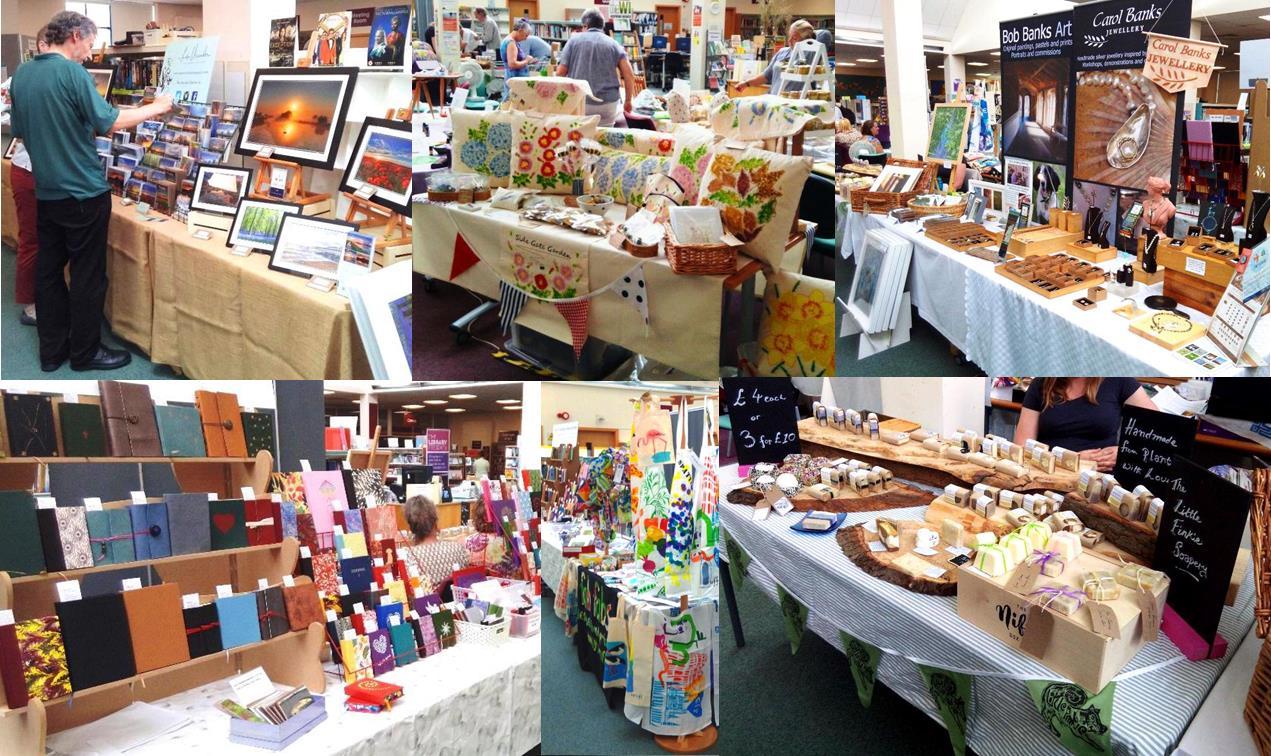 Lughnasadh Craft Fair at Ely Library