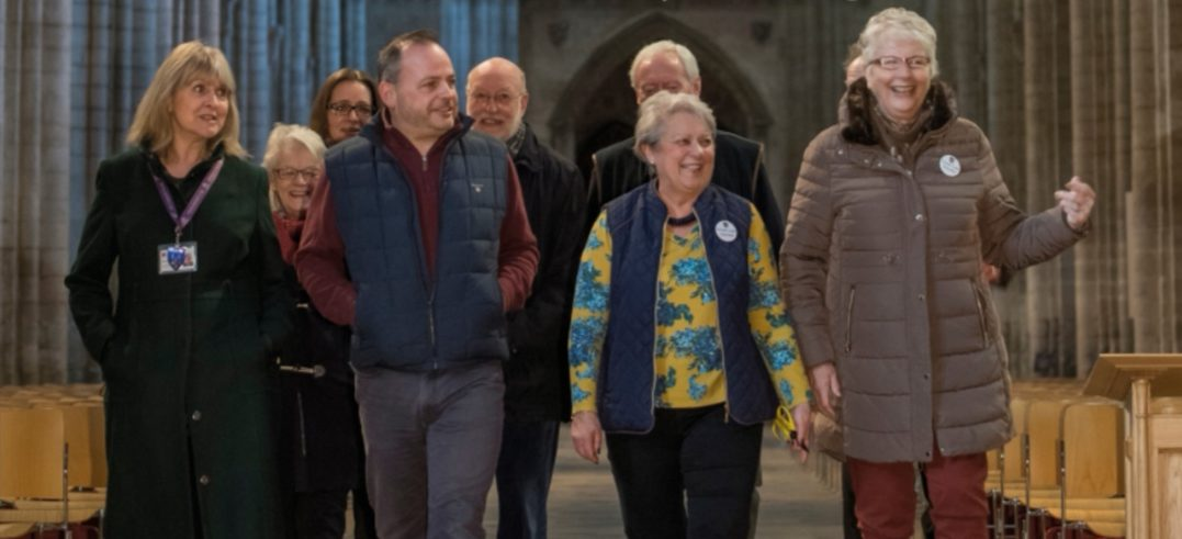 Ely Cathedral Volunteer Recruitment Open Evening