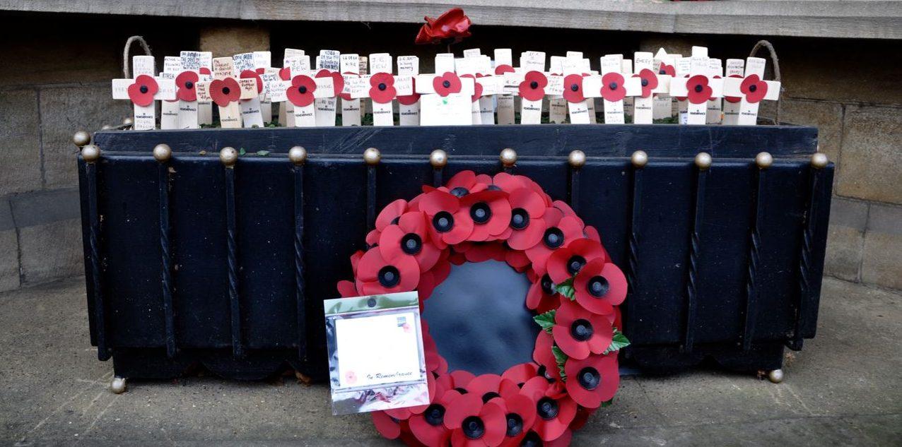 Remembrance Service & Armistice Service this November
