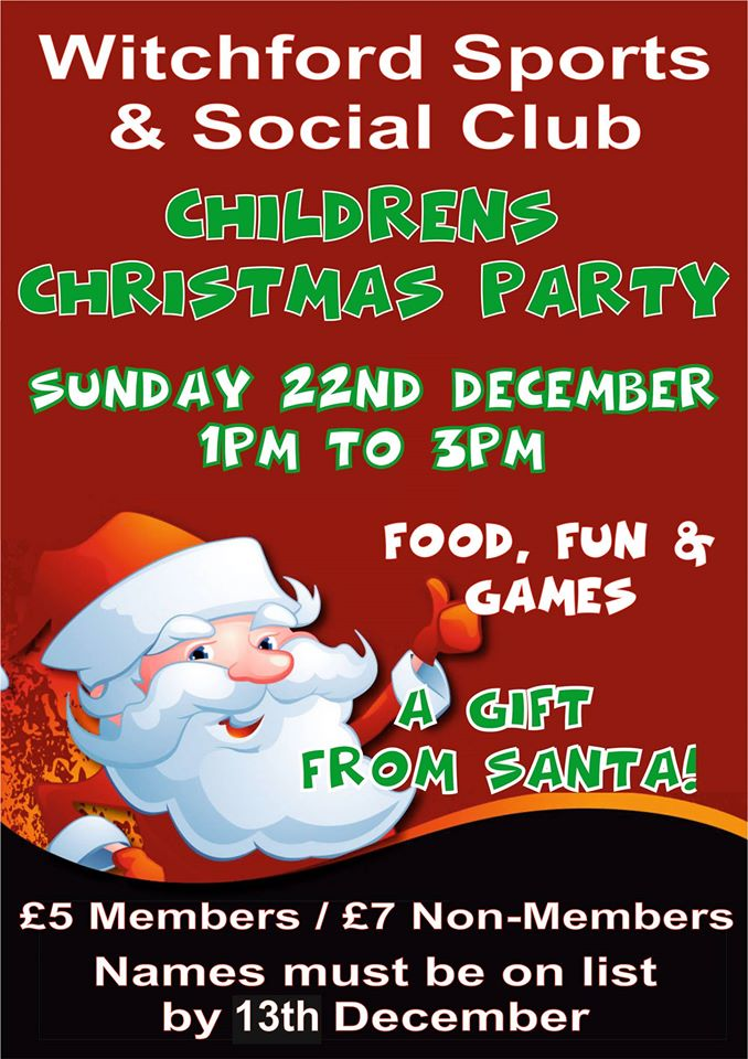 Childrens Christmas Party Spotted In Ely