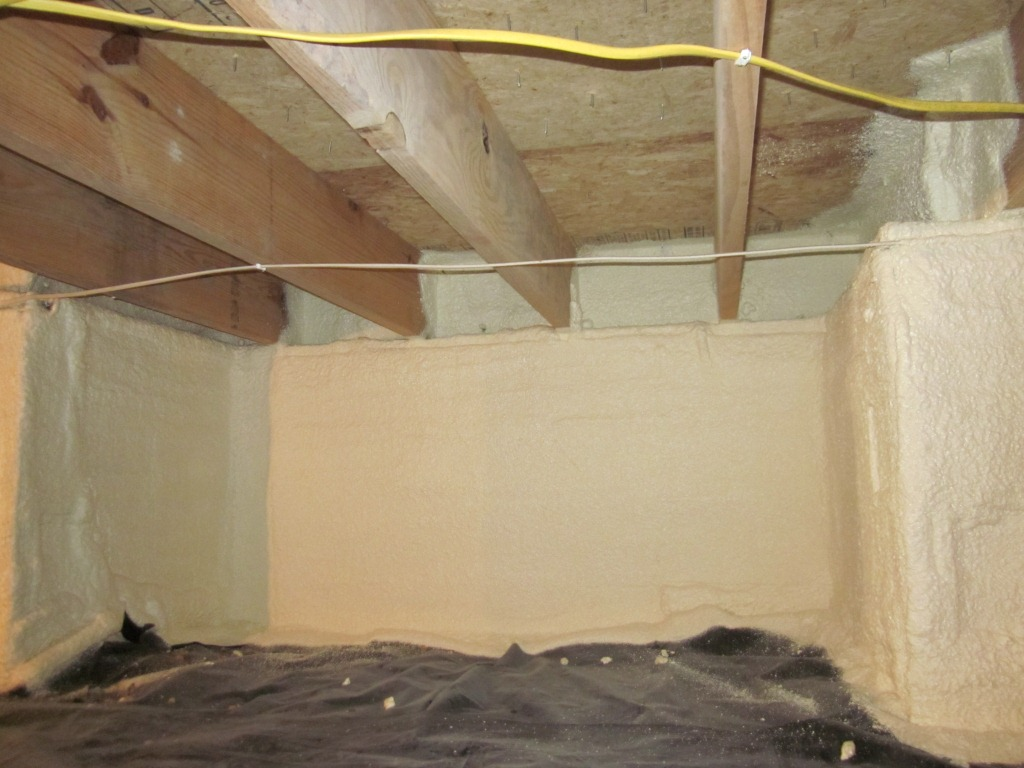 Crawl Space Insulation  Gary E Spotts Insulation Inc