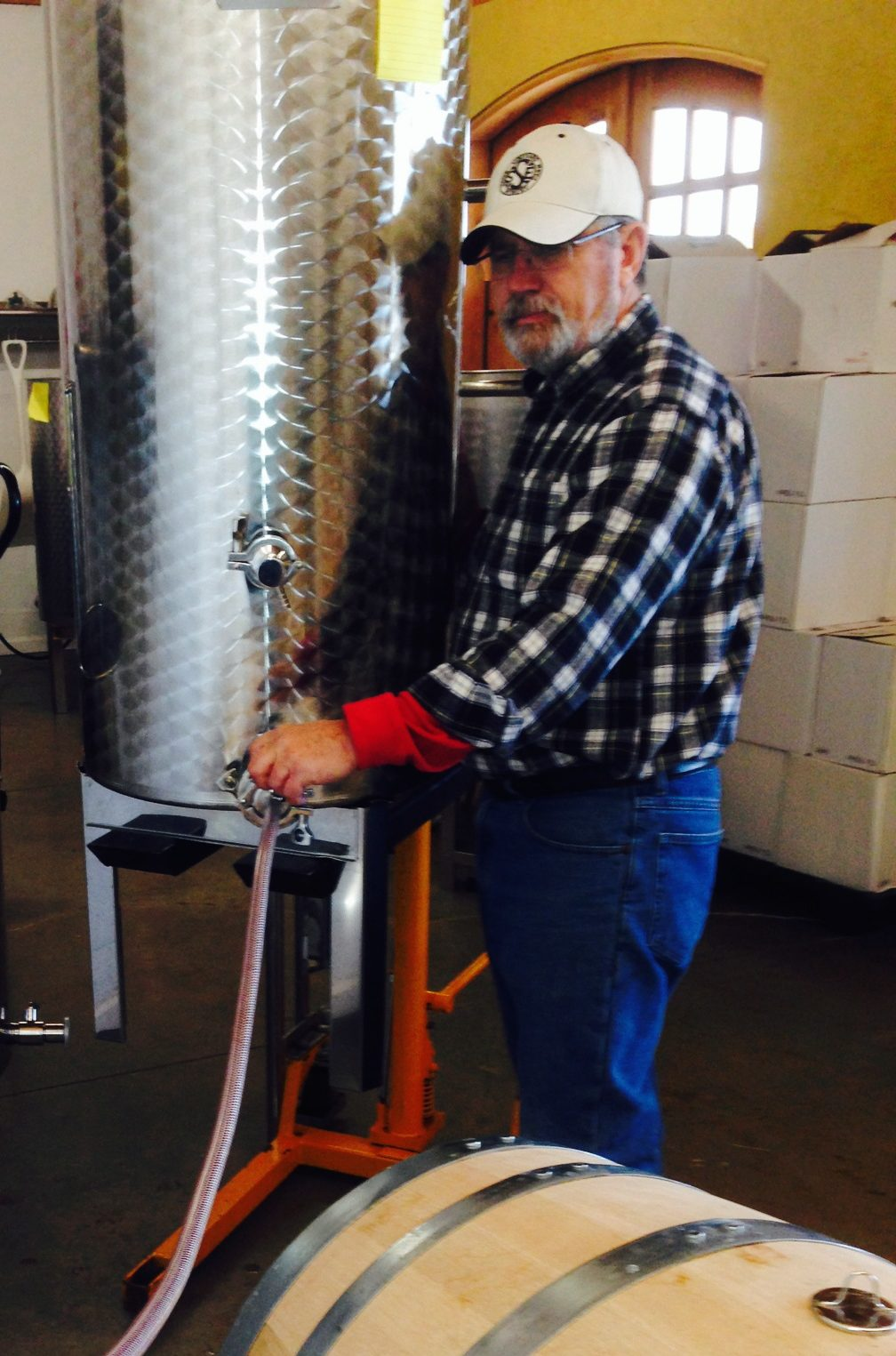 Winemaker Chuck Belt-Spout Spring Estates Winery and Vineyard