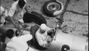 Neubauer, ehemaliger Offizier der k.u.k-Armee drillte die Mechaniker. Das verschaffte Mercedes-Benz Vorteile