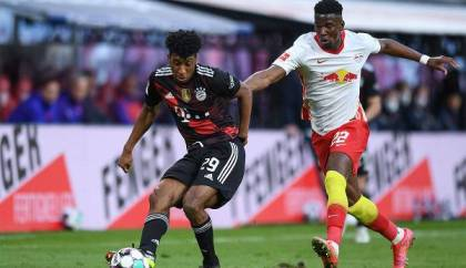 Who's exhibiting / broadcasting RB Leipzig vs.  FC Bayern reside on TV and livestream out?