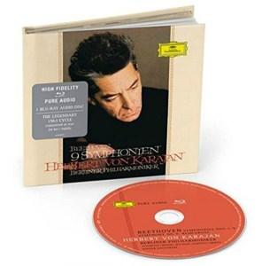 CD cover, Ludwig van Beethoven, Complete Symphonies, 1963 recordings by Herbert von Karajan and the Berliner Philharmoniker