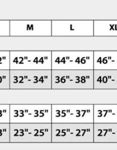 Football jerseys sizing chart also mersnoforum rh
