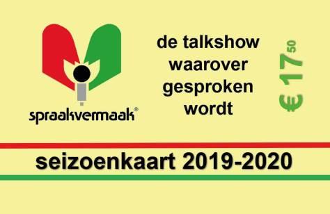 seizoenkaart 2018/2019