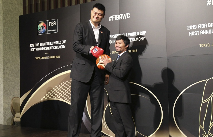 """Yao Ming to Pacquiao on China winning FIBA 2018 hosting: """"We still have a friendship with them!"""""""