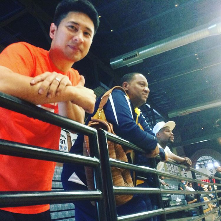 I CHALLENGE YOU – Floyd Mayweather dares Manny Pacquiao to basketball game