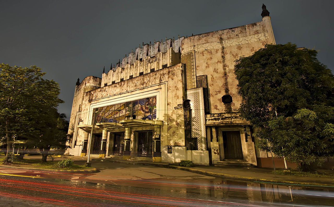 Manila Metropolitan Theater under new management and repairs