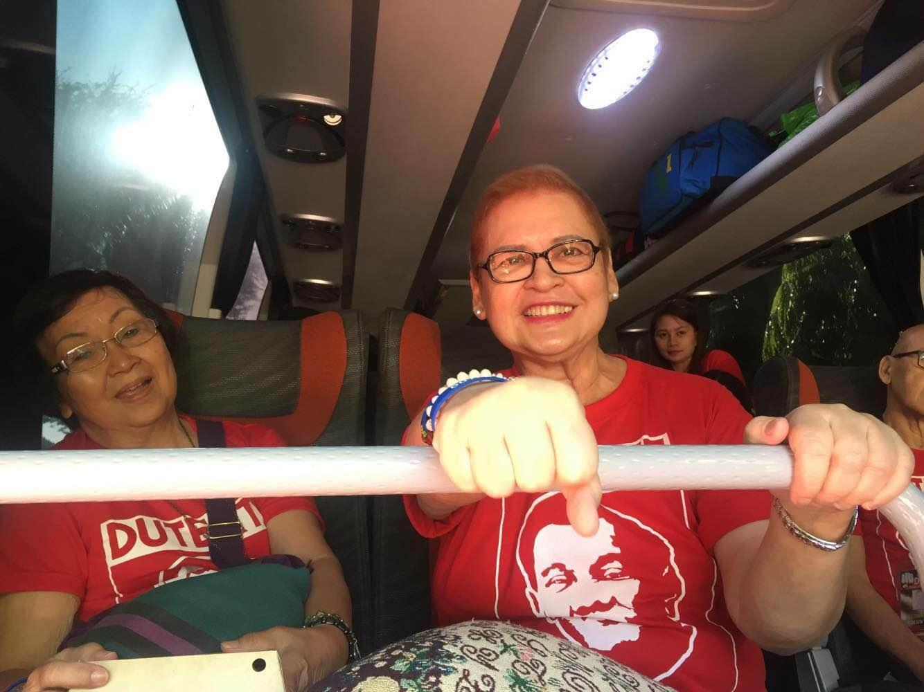 FOR LOVE AND LOVE OF COUNTRY – Duterte's ex-wife skips cancer treatments to launch campaign caravan