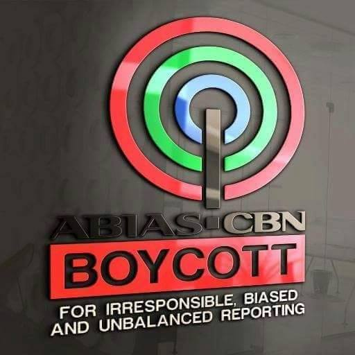 NATIONWIDE BOYCOTT ON ABS-CBN IN PROGRESS, CAUGHT RED-HANDED BROADCASTING DUBIOUS ANTI-DUTERTE ADS