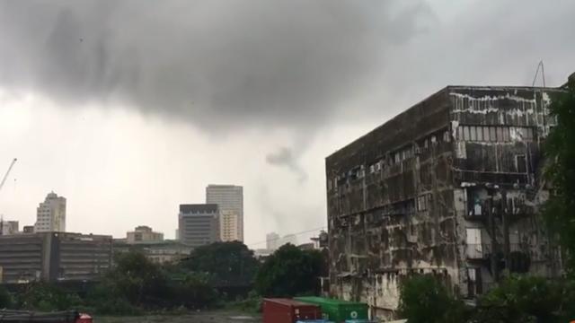 Tornado invades Metro Manila, widespread damages to property