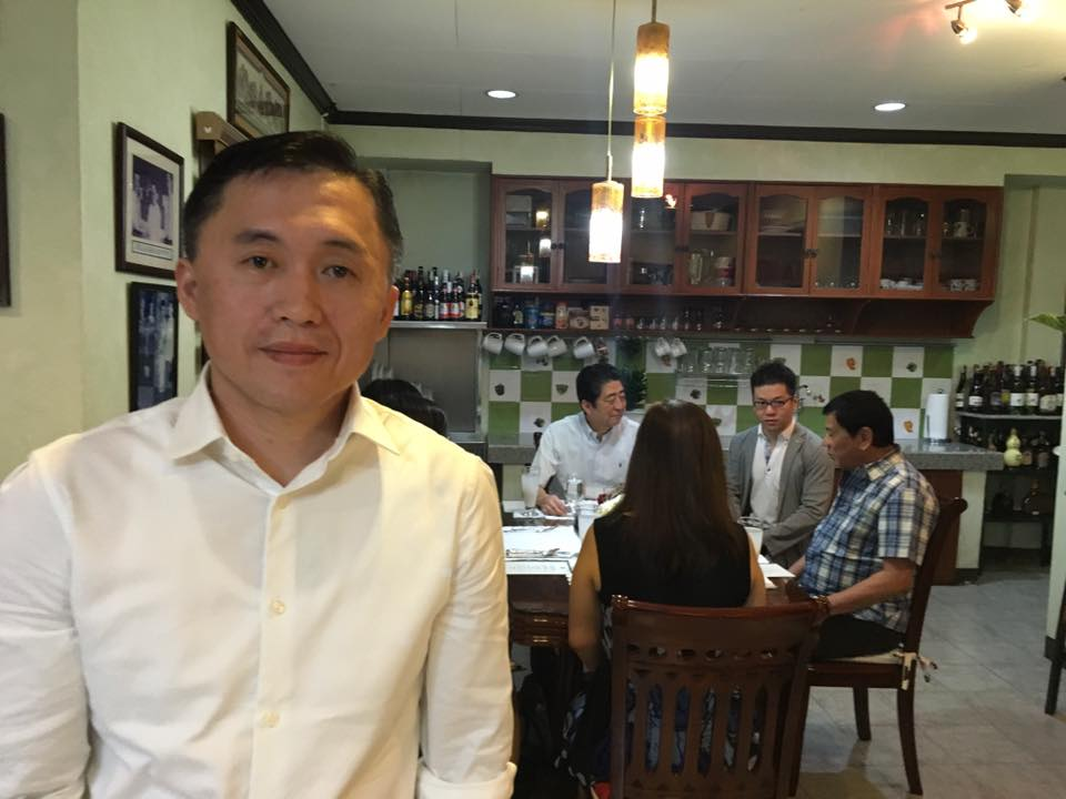 BREAKFAST IN DAVAO: Abe in Duterte's house, and all around Davao City