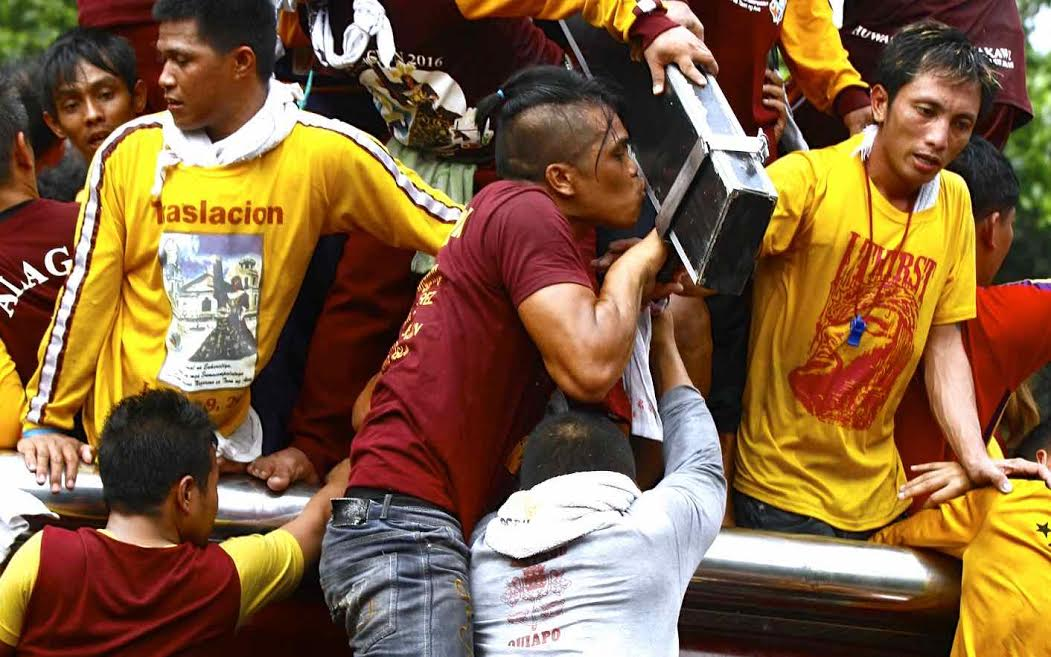 The Black Nazarene Traslacion religious procession and festivities attract foreign tourists