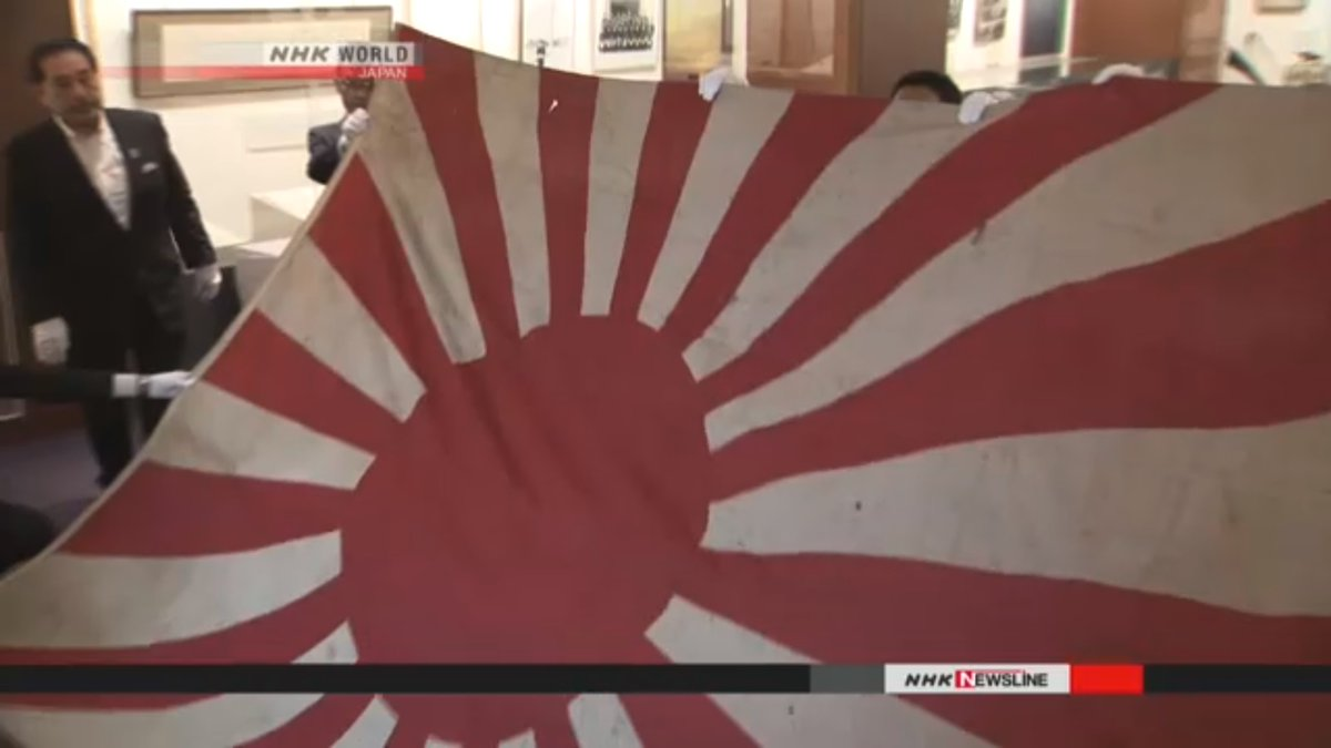 US returns battleship flag donned by Nagato to Japan after years of storage