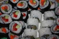 Sushi w postaci rolek