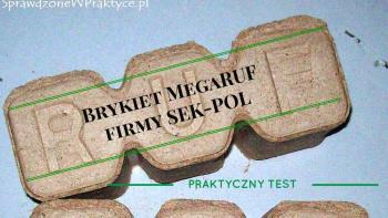 Brykiet MegaRUF Firmy SEK-POL – Praktyczny Test.