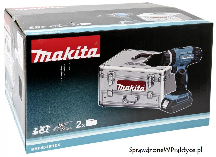 Wkrętarka makita bhp-453