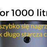 Bufor 1000 litrów w instalacji C.O. – jak szybko się nagrzewa i na jak długo starcza zgromadzone w nim ciepło?