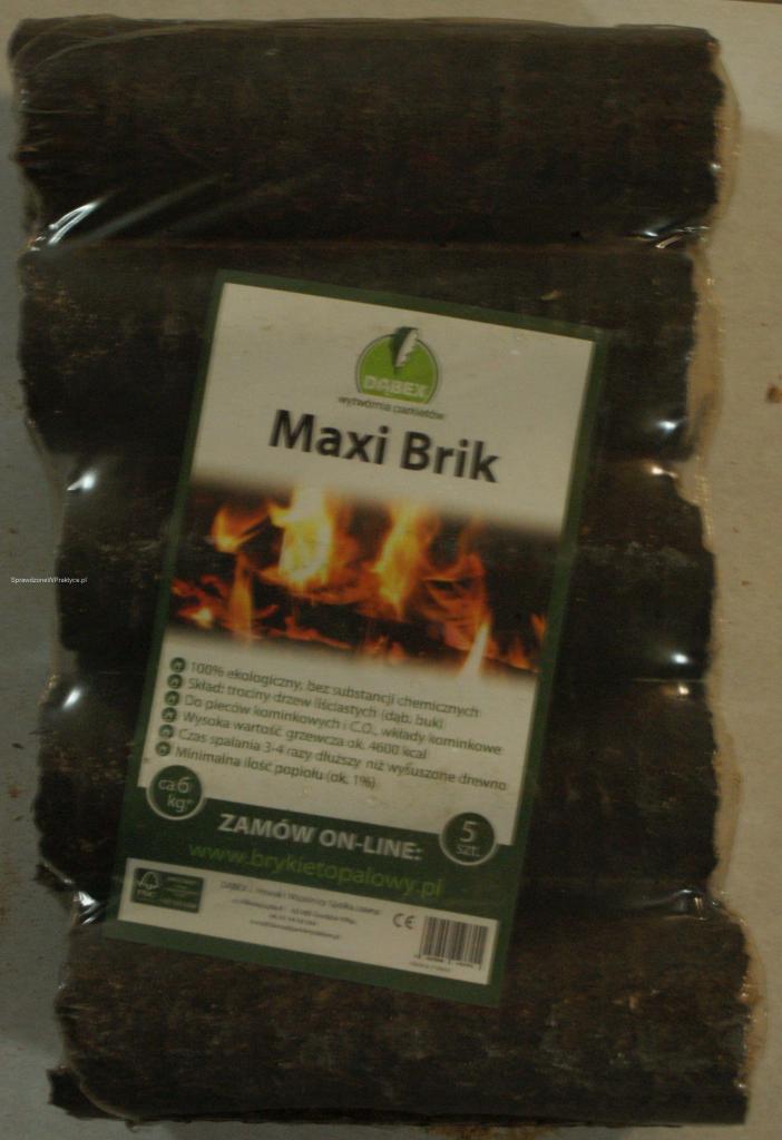 Brykiet Maxi Brik