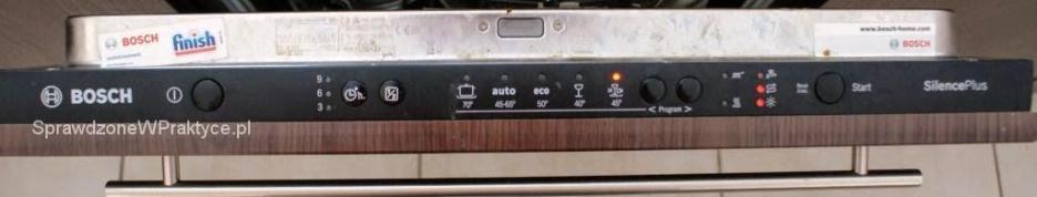 panel zmywarki Bosch