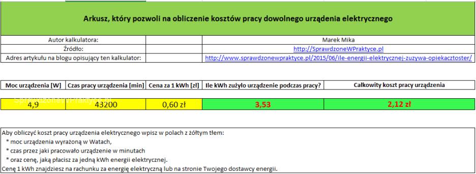 TP-Link TL-WDR4300 koszty pracy