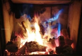 niebieski plomień spalanie SADPAL