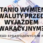 Jak tanio , szybko i bezpiecznie wymienić waluty przed wakacyjnym wyjazdem?