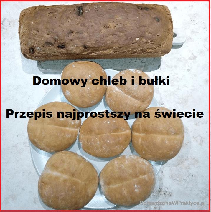 Domowy chleb i bułki