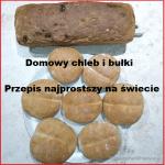 Domowy chleb i bułki, smaczne i zdrowe, najłatwiejszy przepis na świecie.