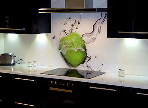 Digital Print  Custom Glass Splashbacks  Sprayed Splashbacks