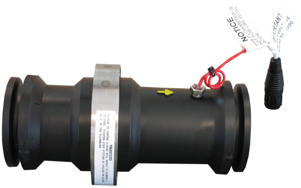 medium resolution of m200 flanged poly flow meter rfm 100p