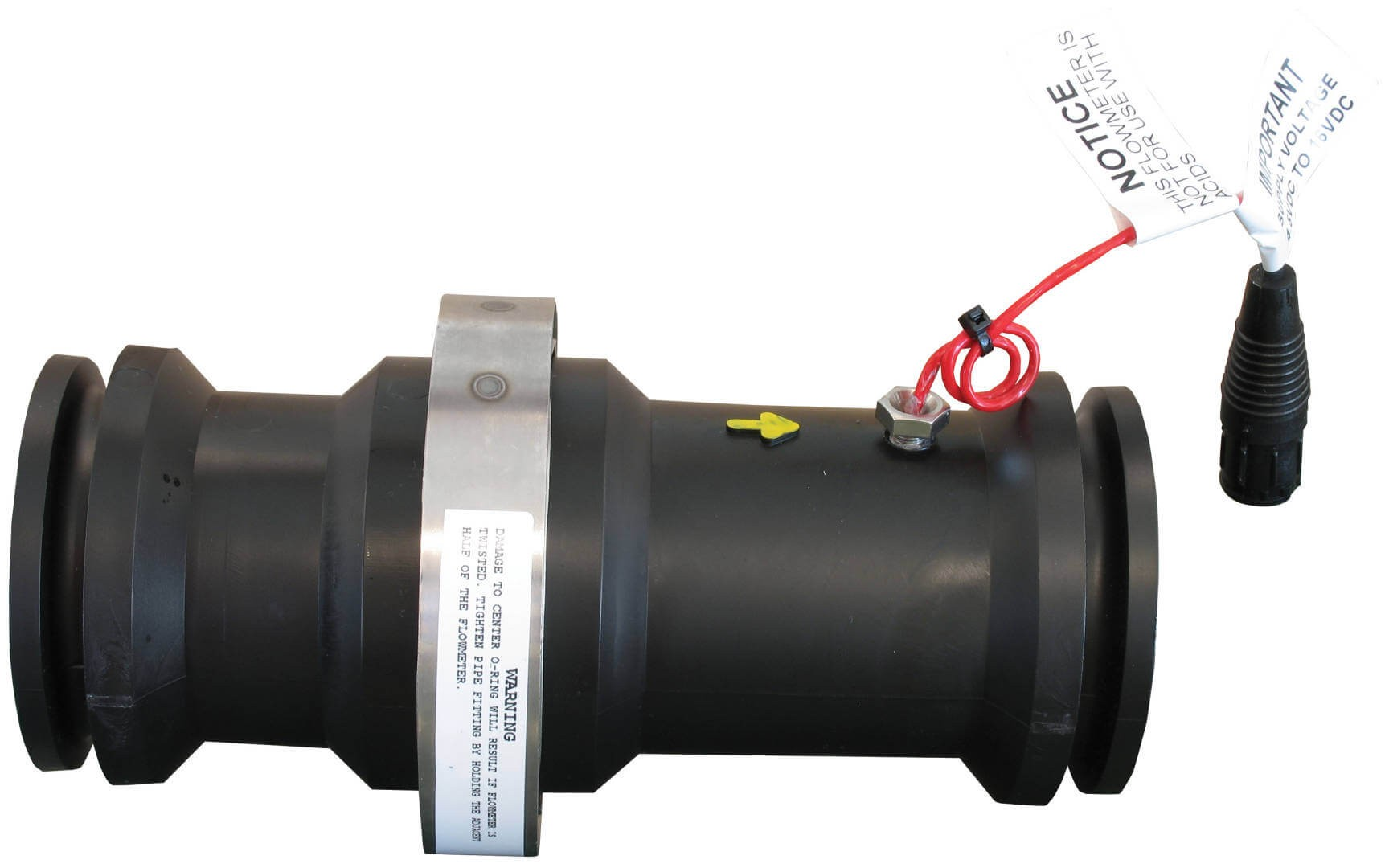 hight resolution of m200 flanged poly flow meter rfm 100p