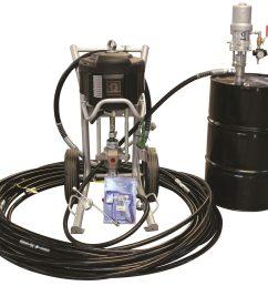 graco complete king pump xtreme airless sprayer package xtr700 gun 310 hose monarch pump [ 2048 x 1776 Pixel ]