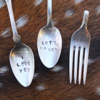 DIY: Stamped Silverware
