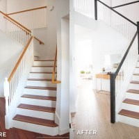 BEFORE & AFTER: STAIRCASE