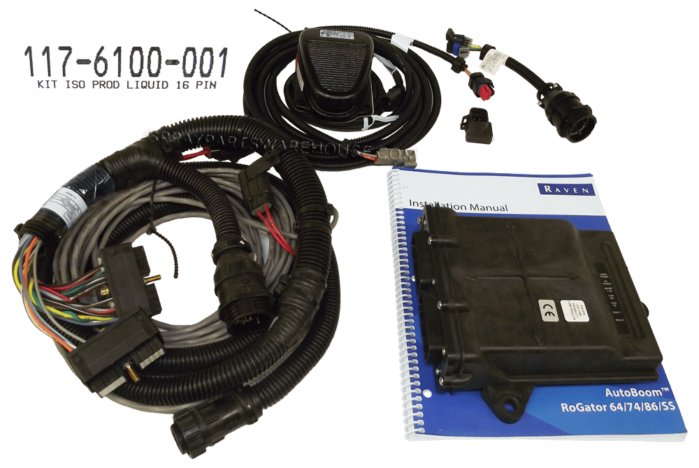 Teejet 744a Sprayer Boom Controller Plus Wiring Harness