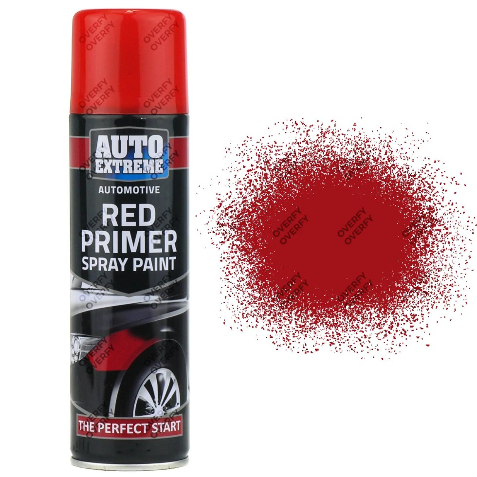 Red Primer Spray Paint 250ml Auto Extreme