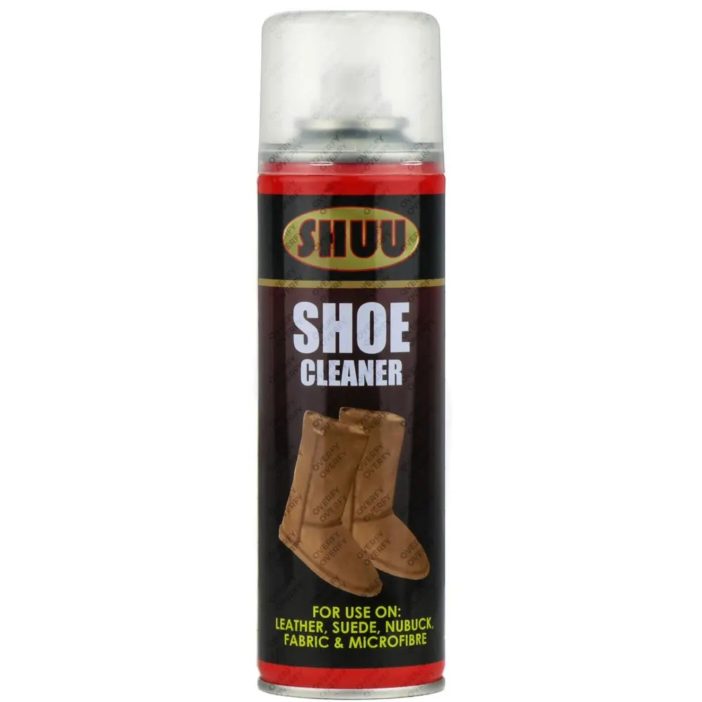 Trainers Boots Shoe Spray Cleaner For Leather Suede Uggs