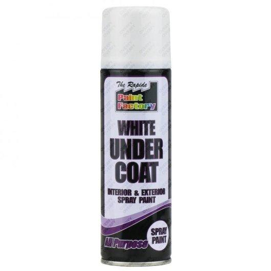 White Undercoat Spray Paint All Purpose 250ml