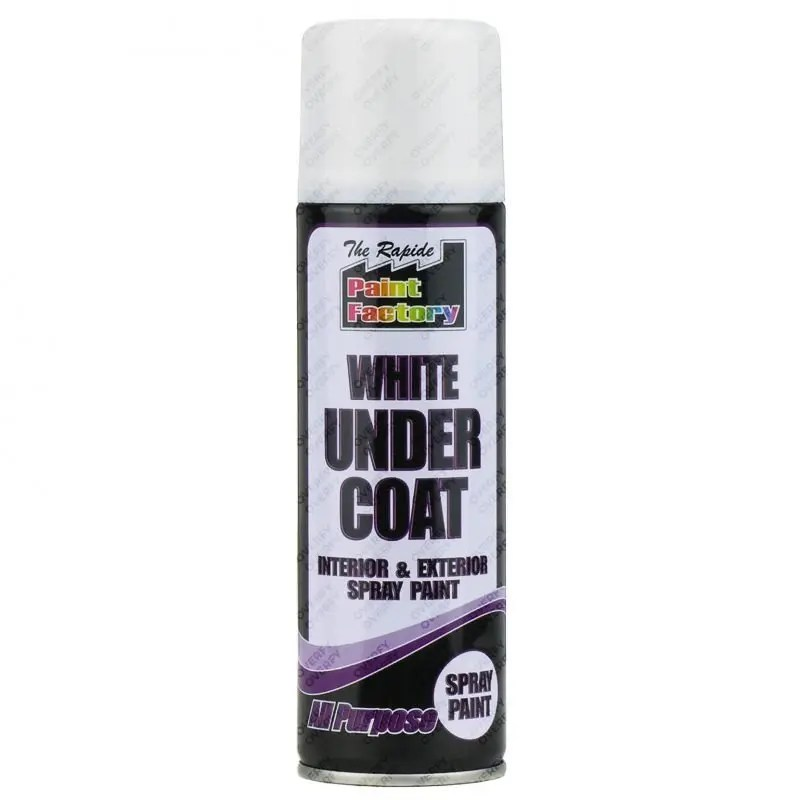 White Undercoat Spray Paint All Purpose 250ml