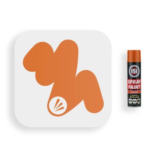 250ml-151-Orange-Gloss-Spray-Paint-Swatch
