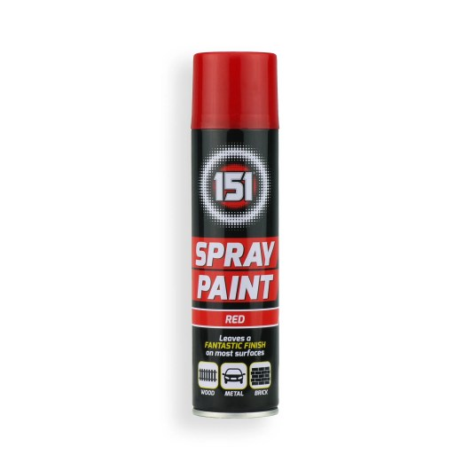 250ml-151-Red-Gloss-Spray-Paint