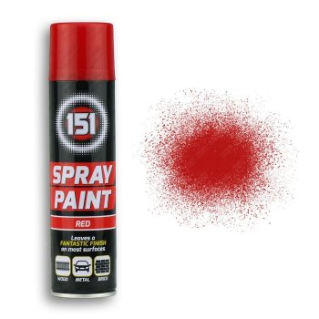 250ml-151-Red-Gloss-Spray-Paint