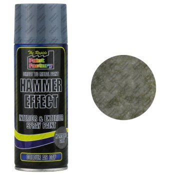 Grey Hammered Spray Paint 400ml