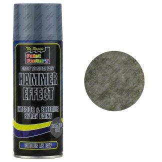 Grey Hammered Spray Paint 400ml