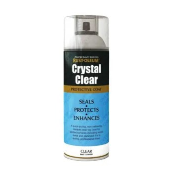 Rust-Oleum Crystal Clear Lacquer Top Coat Matt