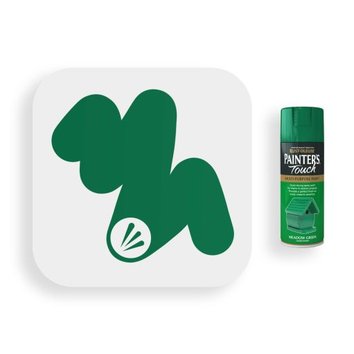Rust-Oleum-Meadow-Green-Gloss-Spray-Paint-400ml-Painters-Touch-Swatch